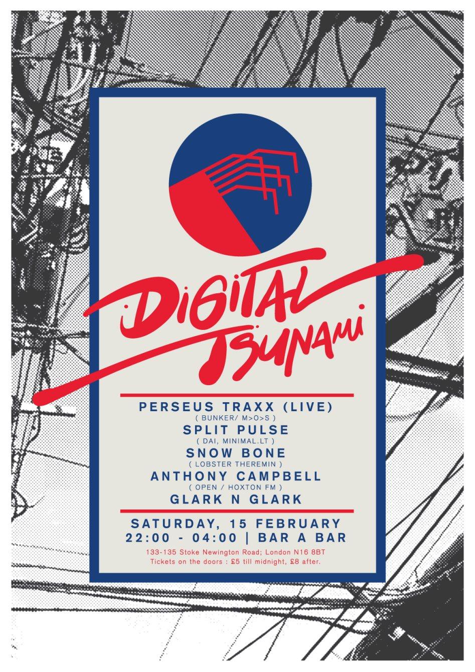 Digital Tsunami: Perseus Traxx